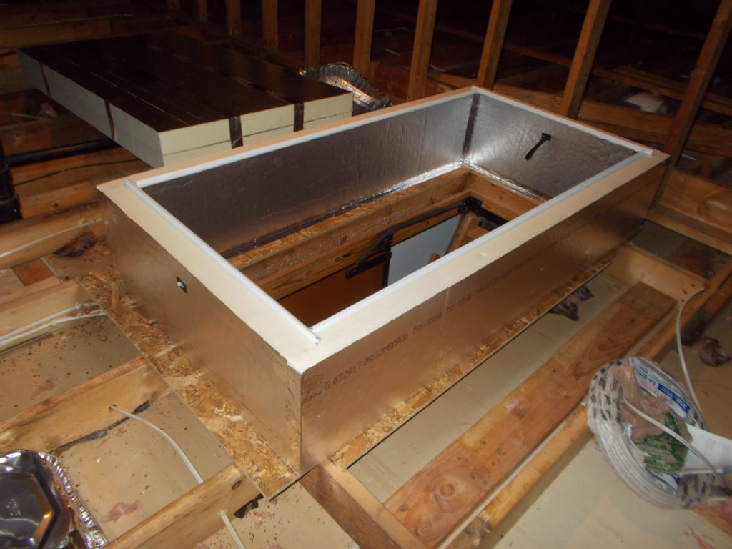 Sidewalls in place