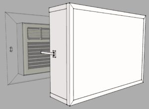 Through-Wall Air Conditioner Cover